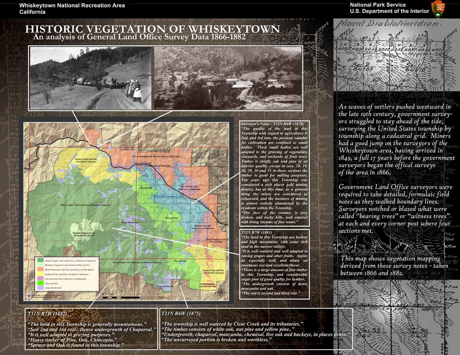 Historic Vegetation of Whiskeytown « Deer Creek Resources