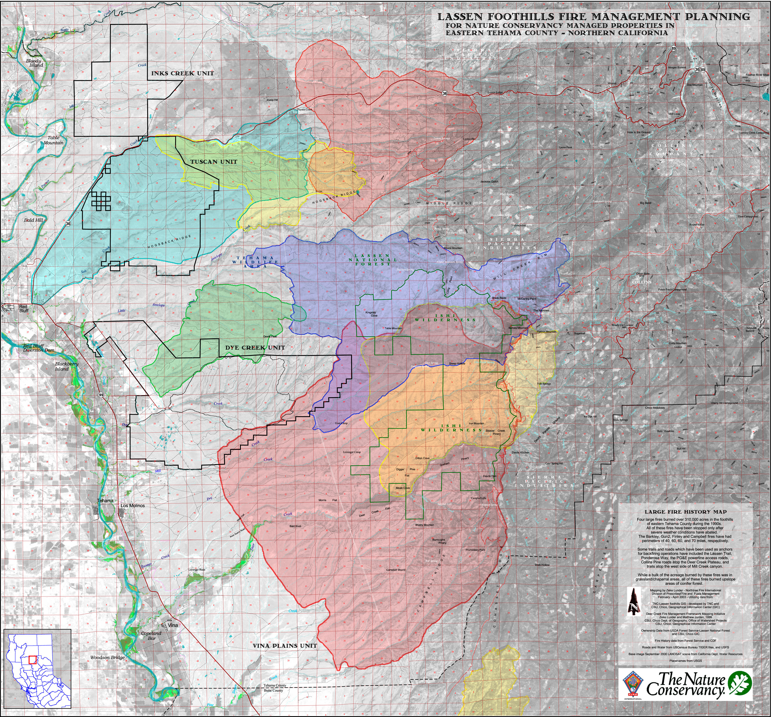 Current Fire Map Sonoma County.Projects Deer Creek Resources